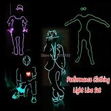 LED Style Gloves Unisex