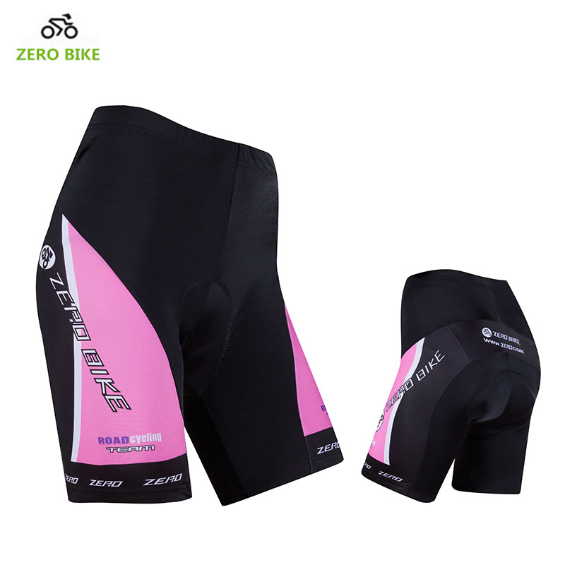 ZEROBIKE Women's Summer Cycling Shorts Quick Dry Gel 3D Padded MTB Bike Tight Shorts Breathable Bicycle Underwear ciclismo
