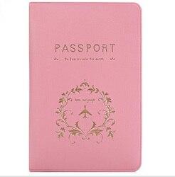 ETya Reisepass Abdeckung Karte Fall Frauen Männer Reise Kreditkarte Halter Reise ID Dokument Reisepass Tasche