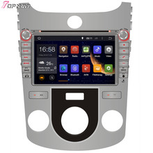 "TOPNAVI 8"" Quad Core Android 6.0 Car Navi For KIA FORTE Manual Air-Conditioner/CERATO Manual Air-Conditioner version GPS"