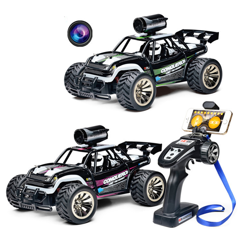 BG1516 Rc Drift Car 2.4G 4wd High Speed Climbing Tourig Racing Car Car APP Control Car WIFI Camera Children's Educational Toys image