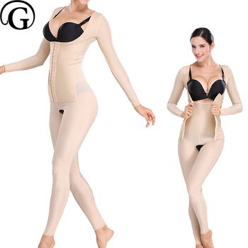 PRAYGER Recovery Full Body Shapewear Compression Slimming Abdomen Lift Bras Shapers Control Thigh Tummy Trimmer Shaper