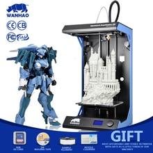 Высокая точность wanhao D5S 3D принтер, Самый большой размер печати 3D принтер с 295*195*590 мм, с Подарок Бесплатная нитей, sd карты