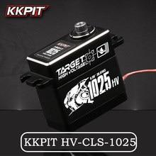Nieuwe Kkpit HV CLS 1025 25Kg 7.4V 0.08S Hoogspanning Metalen Waterdichte IPX6 Digitale Servo Voor Rc Buggy Monster truck Crawler Schaal