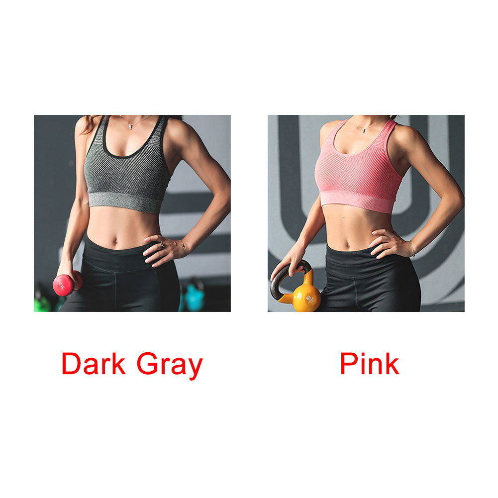 Sports Bras Sports Clothing Women Underwear Anti-vibration Tops Seamless Casual Beautiful Back Padded Fitness Gathering Wirefree Sports Bra Yoga Vest