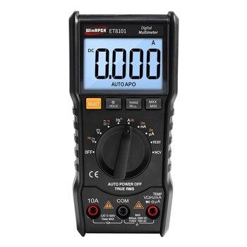 ET8101 3 5/6 AC DC 6000 True RMS Multímetro Digital Voltímetro Digital 1000 V 10A Pocket Mini Multímetro