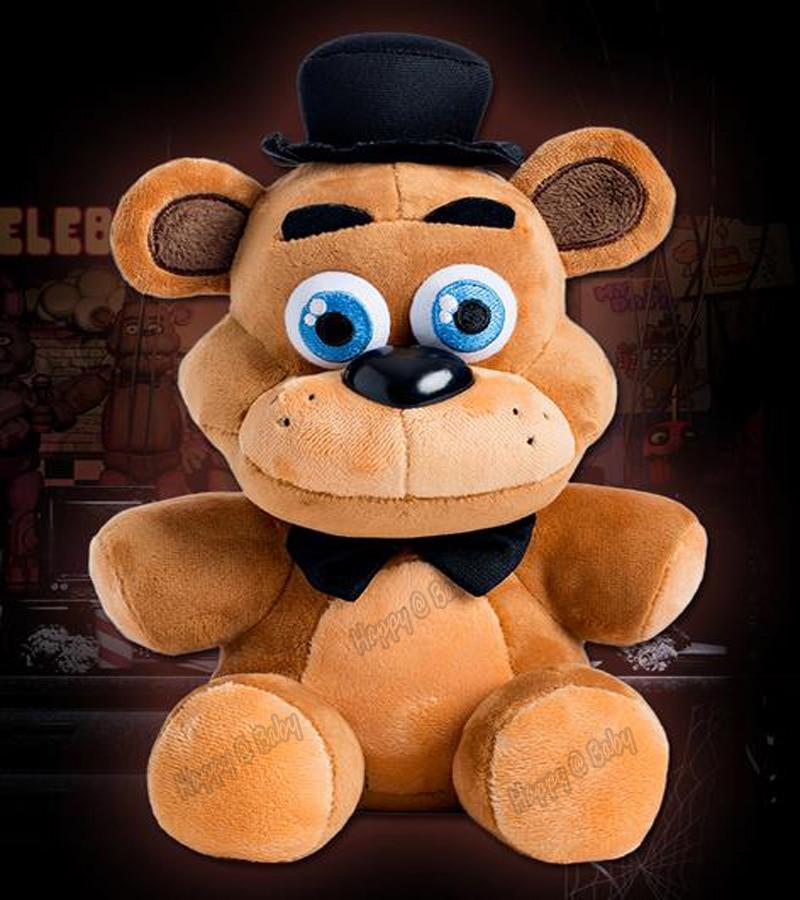 """Fläck! Officiella fem nätter på Freddy's 4 FNAF Freddy Fazbear Björn Plush Leksaker Doll 10 """"barns julklappar"""