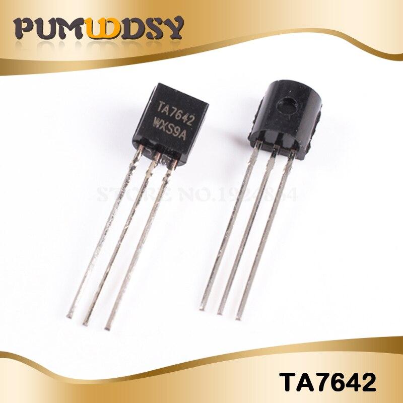 TA7642  Single Radio Chip IC TO92  NEW 2 pcs