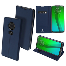 Original Dux Ducis Pu Leather Case For Motorola Moto G7 Coque Luxury Thin Flip Plus Wallet Cover Cases
