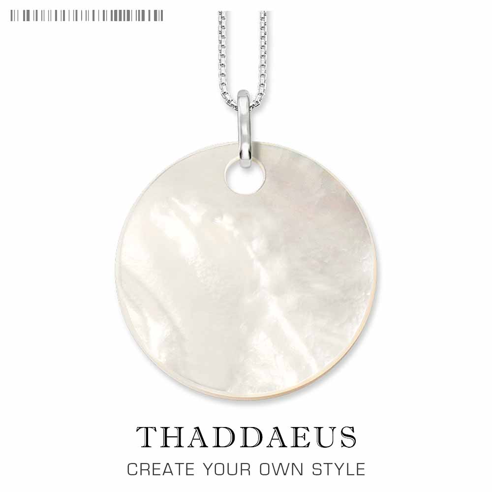 Necklace Shell Ornament,2017 Brand New Ts Link Chain Fashion Jewelry Thomas Style Bijoux Gift For Women Friend
