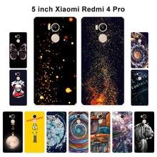 """Для Xiaomi Redmi 4 Pro 4 Prime чехол силиконовый для Xiaomi Redmi 4 Pro модный окрашенный 5,"""" телефон для Xiapmi Redmi 4S"""
