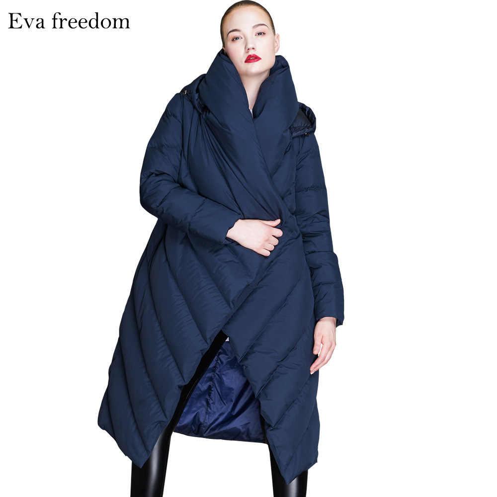 2018 новый зимний продукт, утолщенный свободный пуховик, женский модный пуховик, длинный пуховик для женщин EF1822