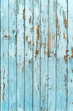 Wood plank vinyl cloth blue weathered wall photography backdrops for newborn kids photo studio portrait photographic backgrounds
