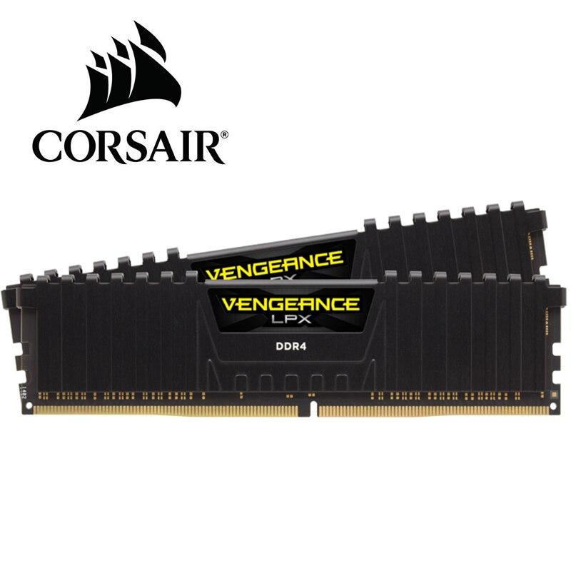 CORSAIR Vengeance LPX 16GB 16G DDR4 PC4 2666MHZ PC computer Desktop RAM ECC memory 16GB RAM 2400mhz 3000mhz 3200mhz|RAMs| - AliExpress