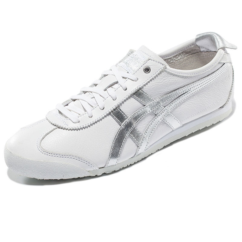 onitsuka tiger mexico 66 white silver hair