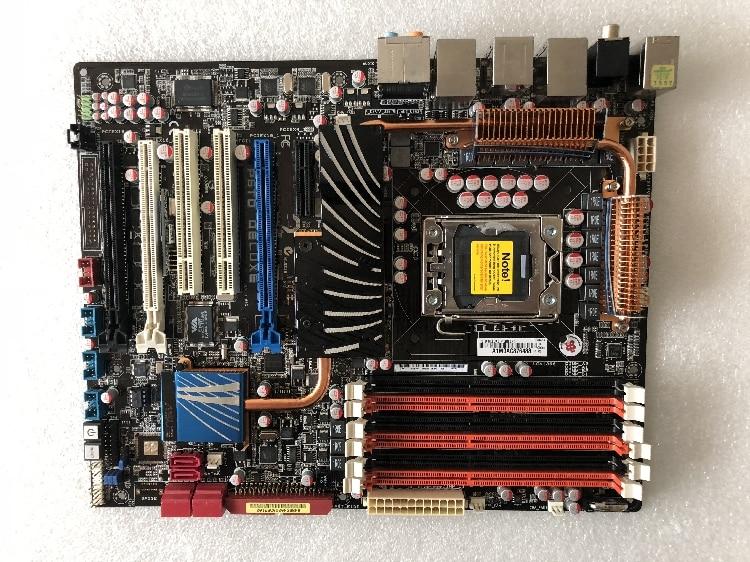 Scheda madre originale per ASUS P6TD Deluxe LGA 1366 DDR3 24 gb scheda madre X58 Scheda Madre Desktop di trasporto libero