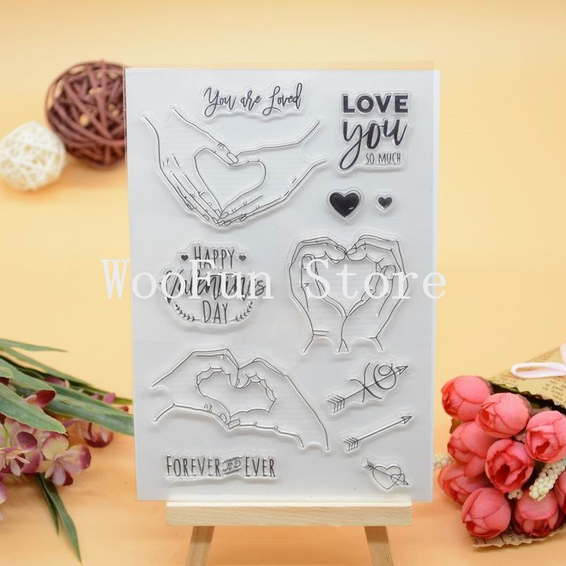 CS1077 Scrapbook DIY Photo Album Cards Transparent Acrylic Silicone Rubber Clear Stamps Sheet  11x16cm Love You yunmi kang 1st album story haven t told you yet release date 2015 10 16 kpop album