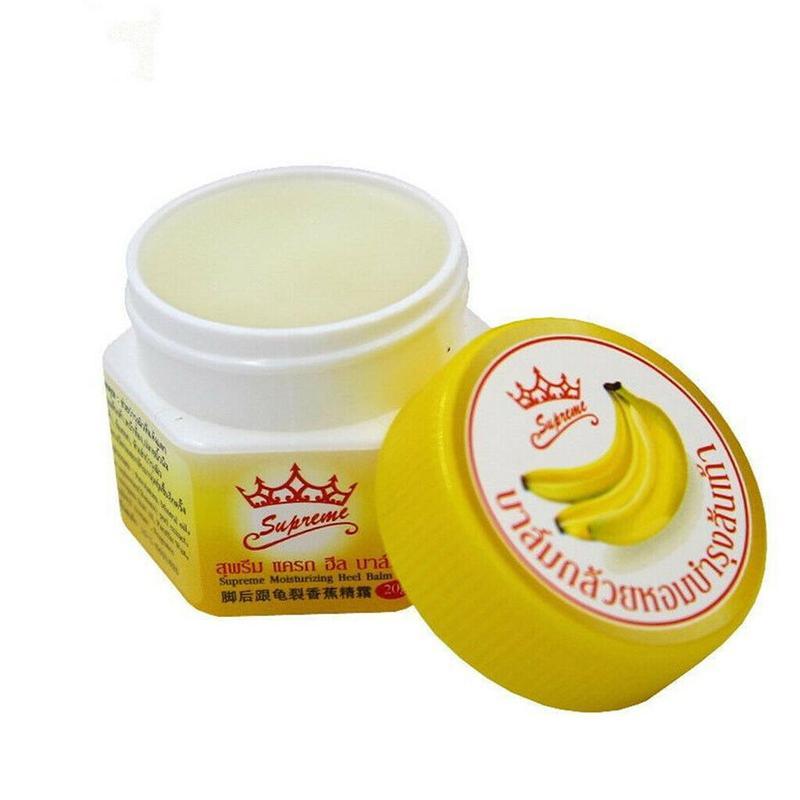 Thailand Banana Skin Cream Moisturizing Heel Prevent Dry Crack Ointment Foot Care Balm Crack Relief Whitening Smooth Health Care