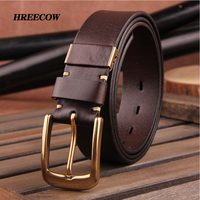 Hot Sale Fashion Men Belts Luxury Designer Top Quality Genuine Leather Belt Man First Layer Cow