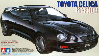 Tamiya 1/24 escala civil de 24133 Celica GT-FOUR kit modelo de plástico
