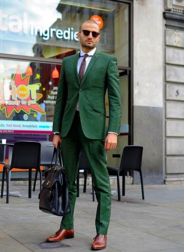 Popular Green Mens Suits-Buy Cheap Green Mens Suits lots from ...