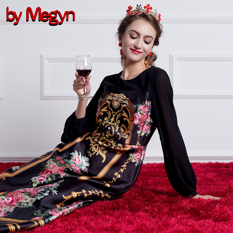 Noël Manches Black La Longues D'hiver Soirée Vintage Maxi Robes Plus Femme Femmes De Pour Formelle Par 2017 Megyn Taille Robe fHqxnSz6B