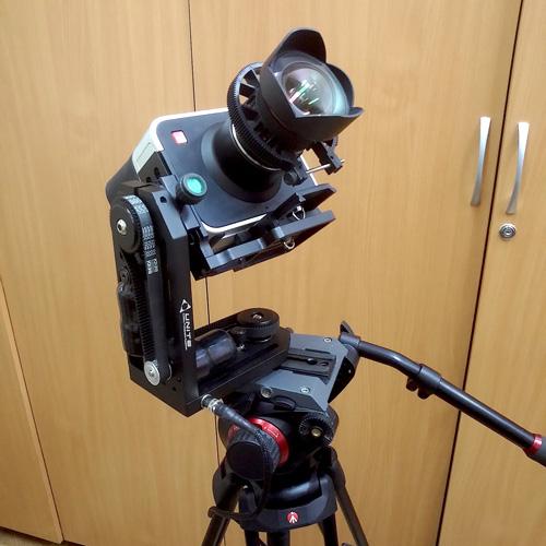 motorized head on tripod