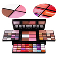 New hot sale 74color makeup set 4 layer 36color eye shadow+28color lip gloss+4color concealer+3color blush+3color powdery cake