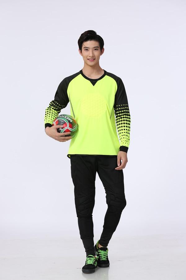 2016 Style Best Quality Men 39 S Goalkeeper Soccer Jersey