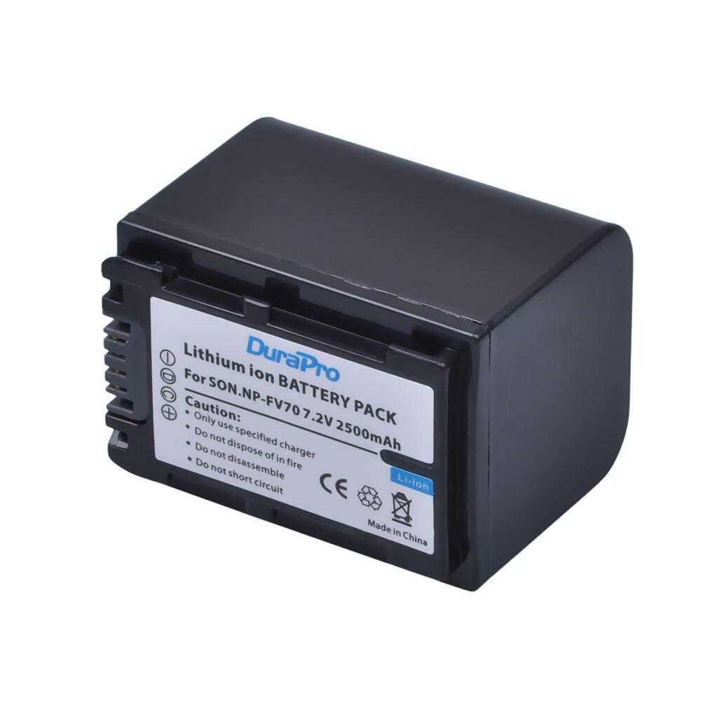 2abb5a62759a5 ᐊ4 Pcs NP-FV70 NP FV70 FV70 Bateria Da Câmera para SONY HDR XR550E ...