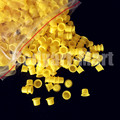 1000pcs 8mm Small Size Yellow Tattoo Ink Cups Caps Permanent Makeup Pigment Cups Caps Supply YIC9-1000# Free Shipping