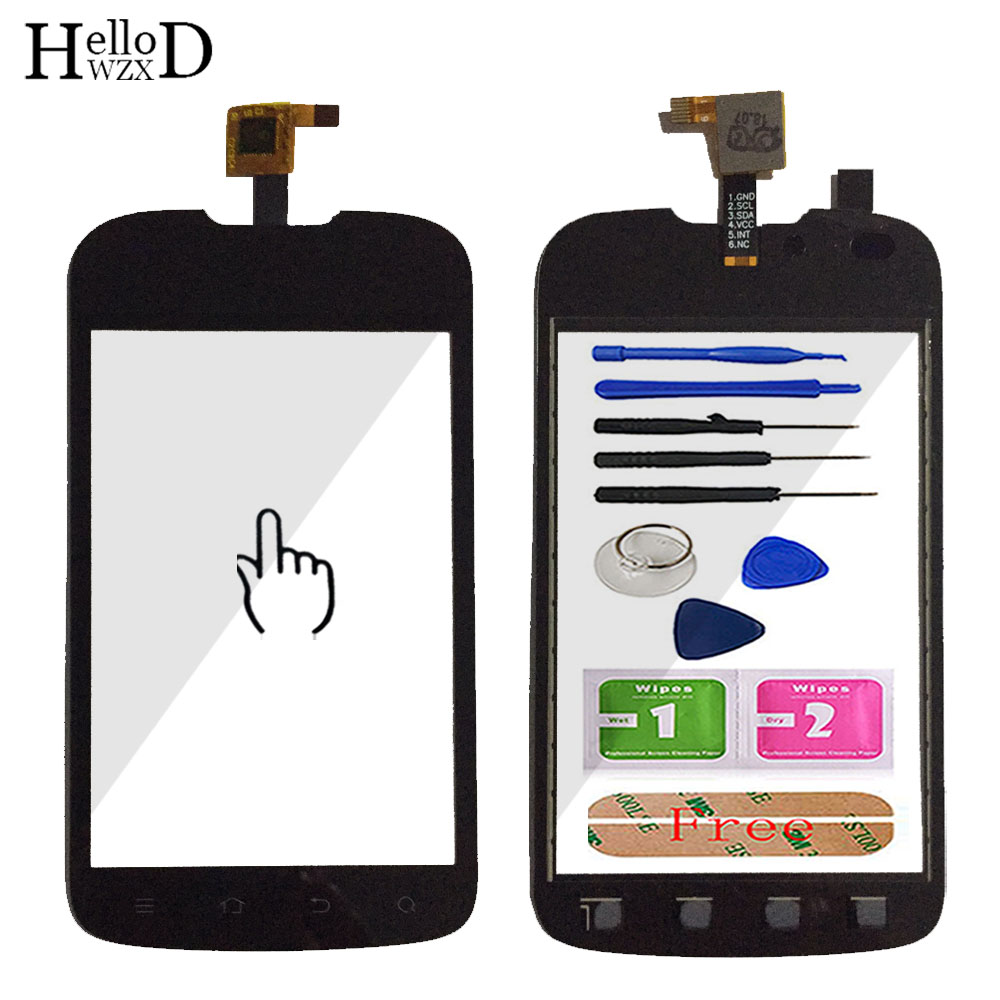 Touchscreen Front Touch Screen For ZTE V790 Viettel V8403 N790 U790 Touch Screen Digitizer Glass Panel Lens Sensor Replace