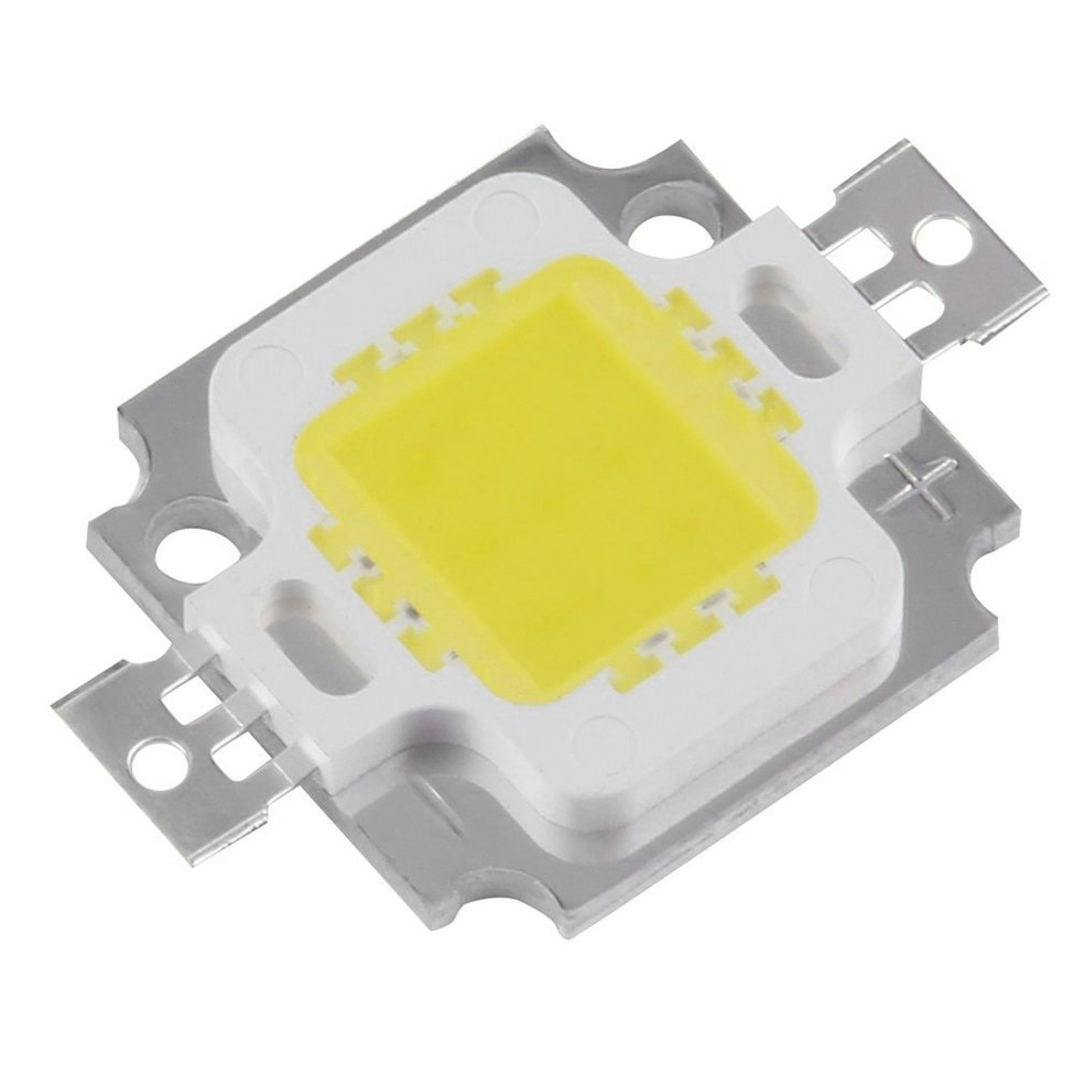 10 PCS 10W LED SMD Chip Bulbs High Power With Waterproof LED Driver Supply diy kits p10 outdoor single yellow led panel 4 pcs 1 pcs led controller 1 pcs jn power supply led display screen all cables