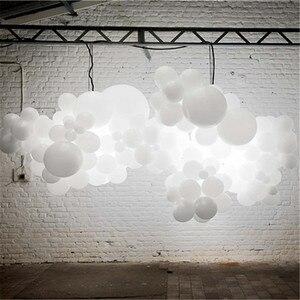 Image 3 - 100PCS LED cerimonia nuziale del partito balloons bagliore bianco aniversario