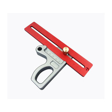 Z-Type Ruler Movable Angle Protractor Oblique Gauge 200mm Woodworking Positioner Measurement Tool