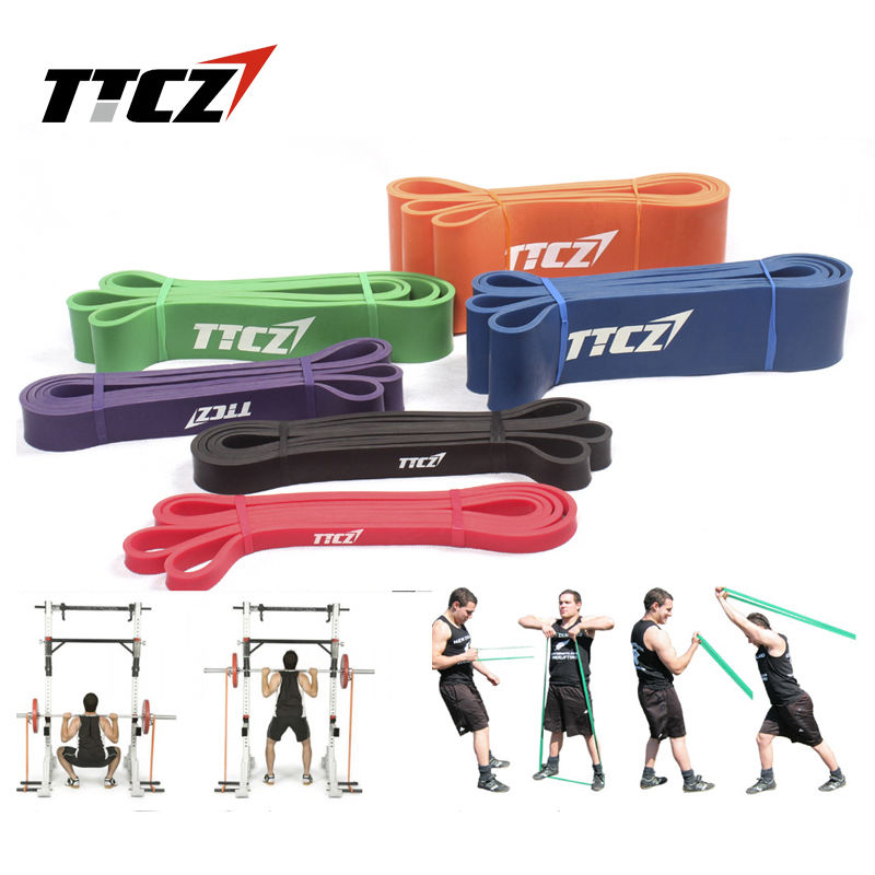Resistance Bands Exercise Loop Strength Weight Training Fitness Yoga CN