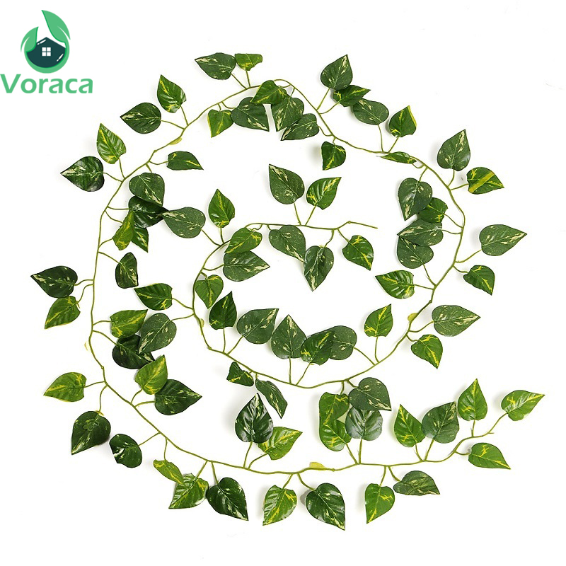 2m Artificial Ivy Leaf Garland Plants Vine Silk Fake Foliage Fake