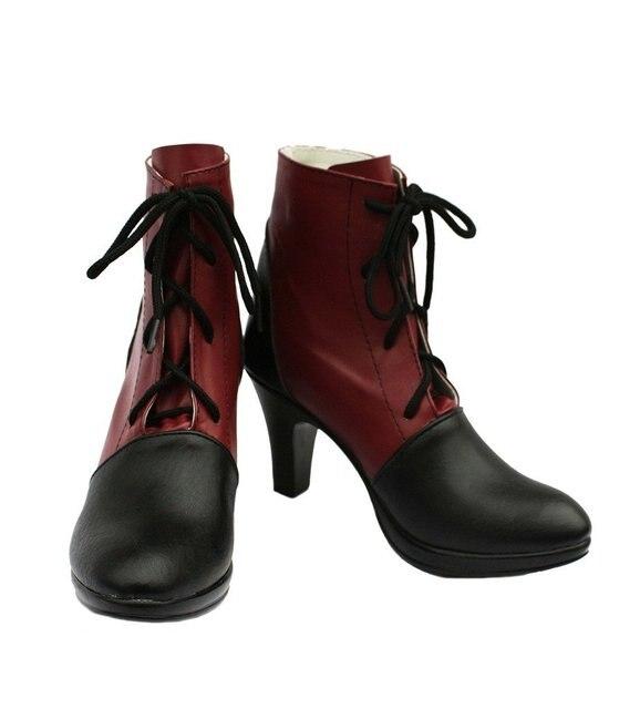 Black Butler Kuroshitsuji Grell Sutcliff Cosplay Shoes Boots Custom Made