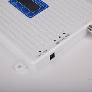 Image 5 - 4g 부스터 GSM WCDMA LTE UMTS 2g 3g 4g 휴대 전화 신호 부스터 70dB 900 1800 2100 트라이 밴드 신호 증폭기 리피터 유닛