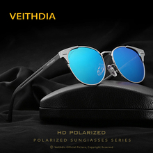 VEITHDIA 2017 New Unisex Retro Aluminum Brand cat eye Sunglasses Polarized Lens Vintage Accessories Sun Glasses For Men Women