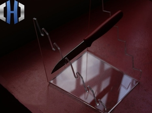 Image 1 - EDC Thickening Custom High end Custom Tool Folding Knife Display Stand Knife Holder