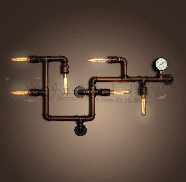 Creative vintage American country style loft industrial plumbing ...