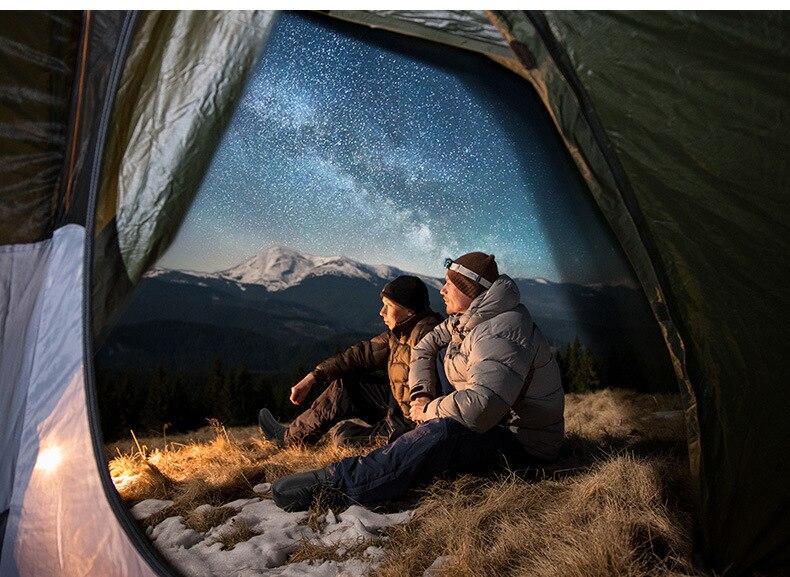 o inverno acampamento saco de dormir acessórios