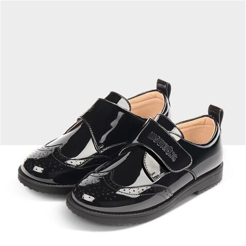 New Spring/Autumn Children Black Shoes Patent Leather Casual Student Dress Shoes Boys Baby Toddler Flats Kids Leather Shoes 02New Spring/Autumn Children Black Shoes Patent Leather Casual Student Dress Shoes Boys Baby Toddler Flats Kids Leather Shoes 02