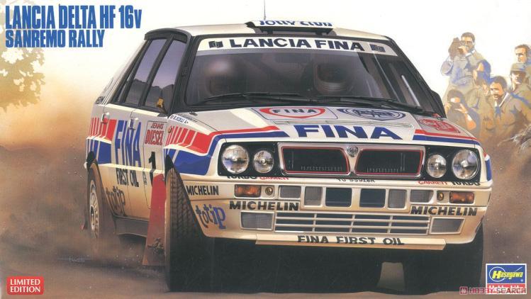 1/24 Assemble Model Lancia Delta HF Integrale 16V 20343