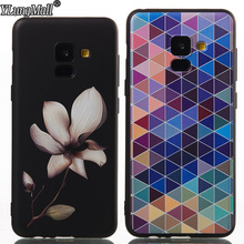 YLungMall Celular Fundas for Samsung Galaxy A8 Plus 2018 A730F Case Cover Relif Silicone Phone Cases for Samsung A8 2018 A530F