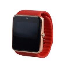 Smart Watch GT08 Uhr Sync Notifier Unterstützung Sim-karte Bluetooth-konnektivität Apple iphone Android Telefon Smartwatch Uhr T50