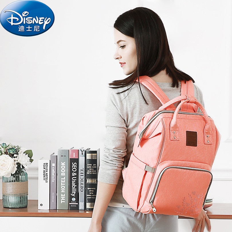 Disney Thermal Insulation Bag High-capacity Baby Feeding Bottle Bags Backpack Baby Care Diaper Bags Oxford Insulation Bags ZT003 new multifunction intelligent thermostat baby double bottle warmers sterilizers thermal insulation heating egg milk warmer