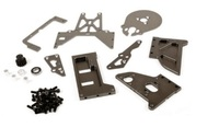 Mount Bracket Kit Gas Motor change to Eletric Brushless Conversion for HPI Baja 5b 5t 5sc parts