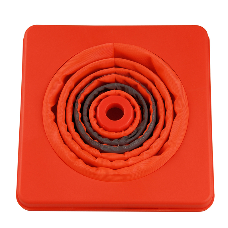 Folding Collapsible Orange Road Safety Cone Traffic Pop Up Parking Multi Purpose Safety Cones Orange Traffic Safety Sign